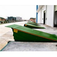Wholesale Warehouse Loading Dock Lift Systems , 8 Ton Steel Yard Ramp Truck Dock Leveler from china suppliers