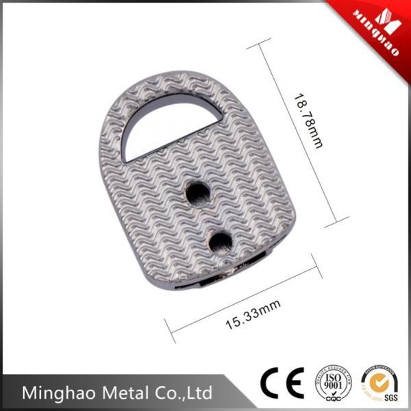 15.33*18.78mm metal bag accessories,nickel metal accessories for handbags