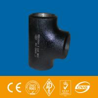 """Wholesale Tee 6"""" 6"""" 6"""" Fittings seamless grade WPB ASTM A234 3LPE External coating from china suppliers"""