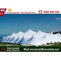 Wholesale Red Customized Freeform Stretch Tent Windproof With Mesh Window / Glass Window from china suppliers
