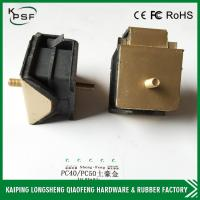 Wholesale Golden Hyundai Engine Mount , PC40 PC50 Excavator Rubber Engine Cushion from china suppliers
