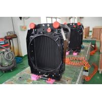 Wholesale Aluminum Vacuum Brazed combined oil cooler radiator for construction machinery oil cooling solutions from china suppliers