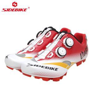 China Men Mountain Cycling Shoes / MTB Bike Shoes SPD Mountain Bike Shoes With Atop on sale