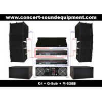 "Wholesale Nightclub Sound Equipment , 480W Full Range Compact Line Array Speaker With 1.4""+2x10"" Neodymium Drivers from china suppliers"