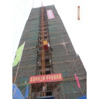 Wholesale 2T Twin Cage Vertical Construction Lifting Equipment, Building Material Hoist SS100/100 from china suppliers