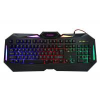 Wholesale Illuminated Logo Wired Gaming Computer Keyboard , Gk601backlit Gaming Keyboard For Pc from china suppliers
