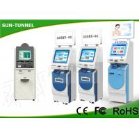 Wholesale 17 Inch Full HD Screen Self Service Check In Hotel Lobby Kiosk With Bank Card Reader from china suppliers