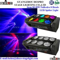 Wholesale Disco Stage Lighting Color Changing LED Moving Beam Light Strobe Effect from china suppliers