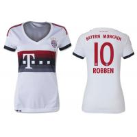 Wholesale White Fans Womens Soccer Jerseys ,  womens soccer uniforms FC Bayern Munich Away from china suppliers