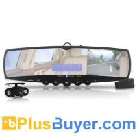 Wholesale Car Wireless Rearview Mirror and Camera (MP3, FM, Bluetooth) from china suppliers