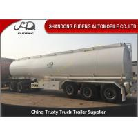 Wholesale BPW 12 ton axle fuel tanker semi truck trailer air suspension from china suppliers