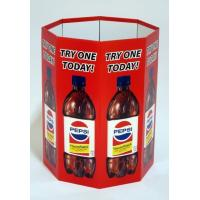 Wholesale Printed Advertising Fabric Banner Stand Displays Round Storage Dump Bin from china suppliers