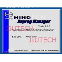 Wholesale Hino Reprog Manager V3.12 / Hino Diagnostic Software For Ecu Engine Progamming from china suppliers