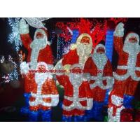 Wholesale Christmas Motif Light LED Acrylic Santa Claus 3D LED christmas acrylic deer motif light from china suppliers