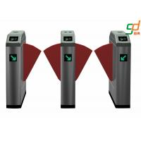 Wholesale Remote Control Flap Barrier Gate RFID Electronic Pedestrian Turnstiles from china suppliers