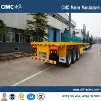 Wholesale multi axle 40 ton flatbed semi trailer for sale - CIMC Vehicle from china suppliers