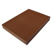 Wholesale Natural Wood Solid Core Wpc Decking Floor / Wood Plastic Composite Decking from china suppliers