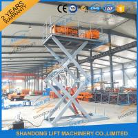 Wholesale CE TUV1.5T 3.5M Warehouse Hydraulic Scissor Lift Scissor Lift Platform for Cargo from china suppliers