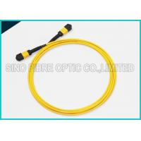 Wholesale 40Gbps 3.0mm 12 Array MPO to MPO Singlemode SMF-28e Fibre Optical Riser Rated Patch Cable from china suppliers