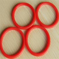 Wholesale Red Automobile Rubber Parts EPDM / SILICONE O Ring Seals Shock Absorption from china suppliers