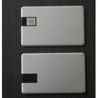 Wholesale Metal Business / Credit Card USB Flash Drive With Company Logo from china suppliers