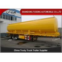 Wholesale 50000 L Fuel Tanker Semi Trailer With 5 Cabin For Fuel , Petrol Tanker Trailers from china suppliers