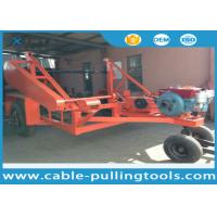 Wholesale 5T Multi function Full Cable Drum Trailer Other Tools With Water Cooled Diesel Engine from china suppliers