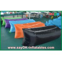 China Outdoor Beach Fast Filling Inflatable Air Bed Sofa Hangout Sleeping Bag CE on sale