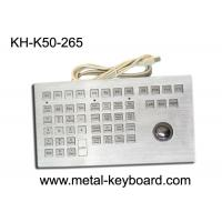 Wholesale Waterproof IP65 Rate Industrial Kiosk Keyboard with Rugged Metal Trackball from china suppliers