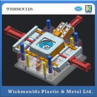 Quality Plastic Injection Molding Service , Injection Moulding Process 3d Design for sale