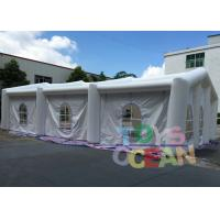Wholesale 20X10X6M Size Outdoor Inflatable Party Tent with 0.55mm PVC Material from china suppliers