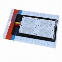 Wholesale Breadboard/1080 Contacts Solderless, 4 x 270 Points Circuit Test Board  from china suppliers