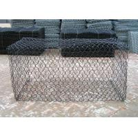 Wholesale 3mm Galvanized Wire Gabion Baskets Hexagonal Hole Protective Coated Surface from china suppliers