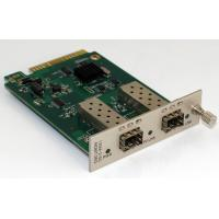 Wholesale 2 Channel Manageable Media Converter Optical Converter Card 850nm from china suppliers