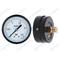 Wholesale 63mm Dry pressure gauge instrument for measuring gas pressure / pressure water gauge from china suppliers