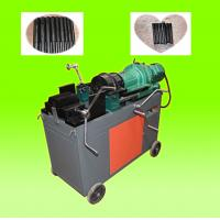 Wholesale Construction Building Rebar Coupler Machine , Chaser Type Rebar Processing Machine from china suppliers