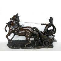 Wholesale Horse Sculpture with Carriage, Running Horse Sculpture from china suppliers