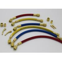 "Wholesale Plus II 1/4"" Heavy Duty HCA Straight x Angle R22 R502 R134a Charging Hose from china suppliers"
