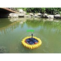 Quality solar floating fountain for sale