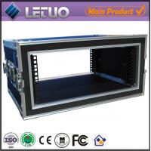 Wholesale LT-FC171 aluminum ata road flight case 6u shock mount flight case rack from china suppliers