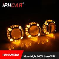 Buy cheap Iphcar car accessories fashional style LED light guide Panamera shroud with 3.0 inch Q5 hid bi xenon projector lens for from wholesalers