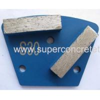 Wholesale Two Bar Double Segment Diamond Grinding Shoes from china suppliers