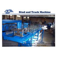 Wholesale 7.5KW Hydraulic Cutting For Stud and Track Roll Forming Machine from china suppliers