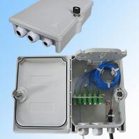 Wholesale 24 Fibers 3 Cable Ports Fiber Termination Box For Outdoor Mechanical Seal from china suppliers