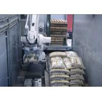 Wholesale Mobile Packaging Palletizing Line In Trailer , Automatic Packaging System Customized from china suppliers
