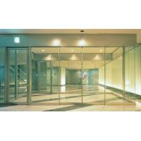Wholesale Electric Slim Frame Automatic Glass Sliding Doors Commercial 75w from china suppliers