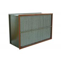 Wholesale High Performance Indoor Dust Air Filter , Deep Pleated Absolute Hepa Filters from china suppliers