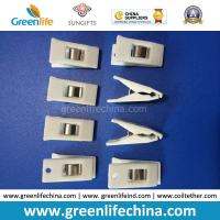 Wholesale White Color Plastic Hot Sale Office Stationery ID Promotional Clips from china suppliers