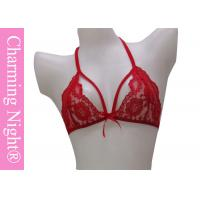 Wholesale Elastic Transparent Sexy Underwear Sets Beautiful Lace bras and knickers from china suppliers