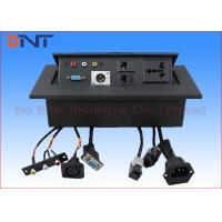 Wholesale Office Hydraulic Desktop Power Plug , Pop Up Power Socket With XRL Connector from china suppliers